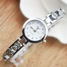 """Часы женские на серебряном браслете """"Эльче"""""""