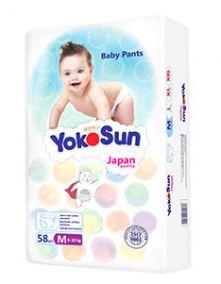 трусики YokoSun - M ( 6-10кг ) , 58шт