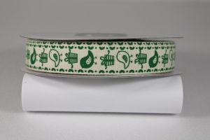 Лента хлопковая с рисунком, ширина 16 мм, рулон 20 ярдов = 18 метров, Арт. ХЛР-P13676