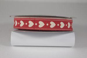 Лента хлопковая с рисунком, ширина 16 мм, рулон 20 ярдов = 18 метров, Арт. ХЛР-P13662
