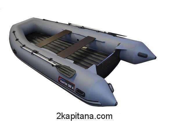 Лодка с надувным дном Хантер 390 А НДНД