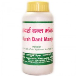 AdarshDant Manjantooth powder 80 gr,Зубной Порошок Натур