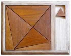 Головоломка Бермудский треугольник