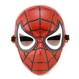 Маска человека паука со светящимися глазами