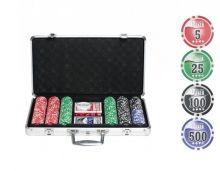 Набор для покера 300 фишек (11,5ГР.), с номиналом