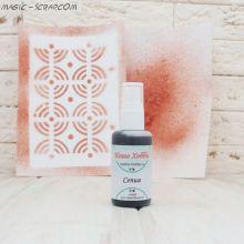 Спреевая краска для скрапбукинга цвет сепия