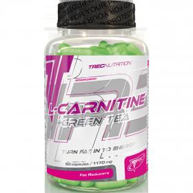 Trec Nutrition L-Carnitine + Green Tea (90 капс.)