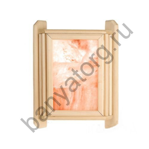 Абажур угловой с гималайской солью 3 плитки