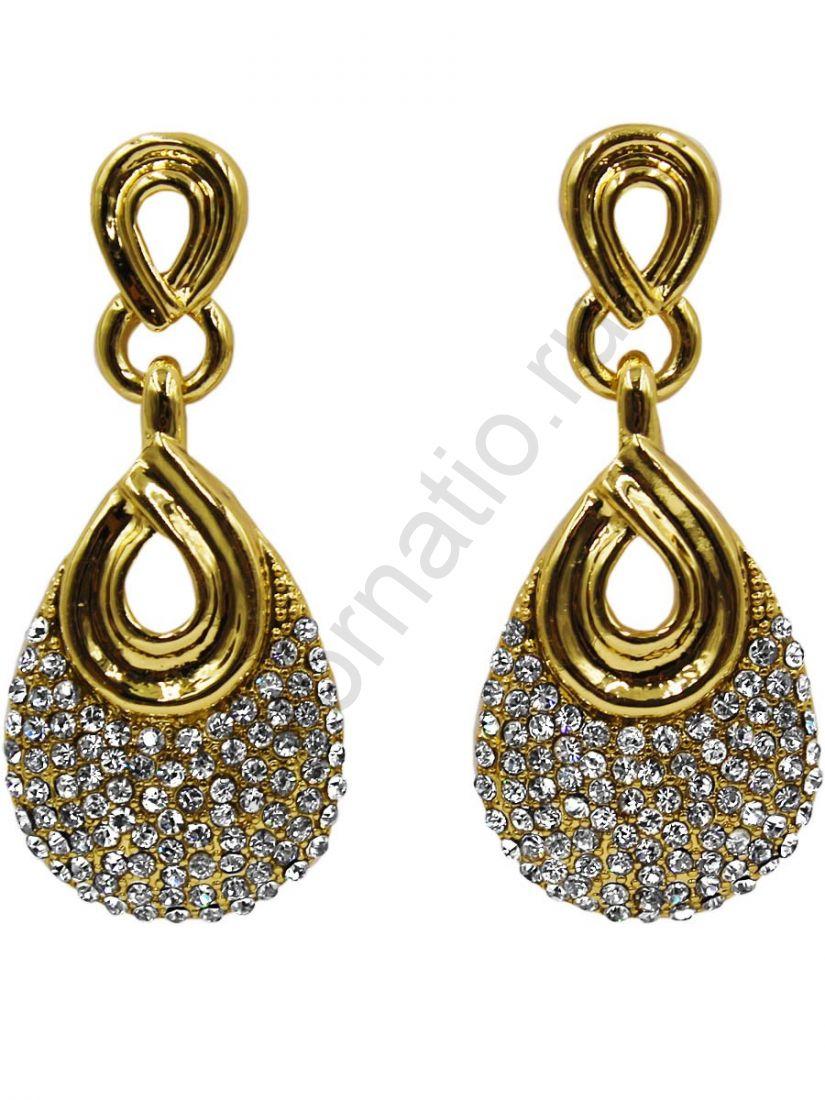 Серьги Taya LX. 11392-EARR-GOLD