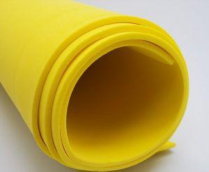 Фоамиран Иранский, толщина 2 мм, размер 60х70 см, цвет жёлтый (1 уп = 5 листов)