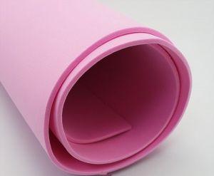 Фоамиран Иранский, толщина 2 мм, размер 60х70 см, цвет тёмно-розовый (1 уп = 5 листов)
