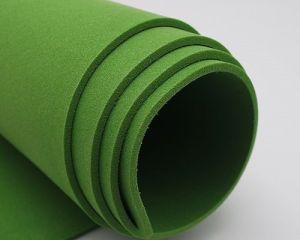 Фоамиран Иранский, толщина 2 мм, размер 60х70 см, цвет зелёный лист (1 уп = 5 листов)