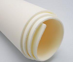 `Фоамиран Иранский, толщина 2 мм, размер 60х70 см, цвет слоновая кость