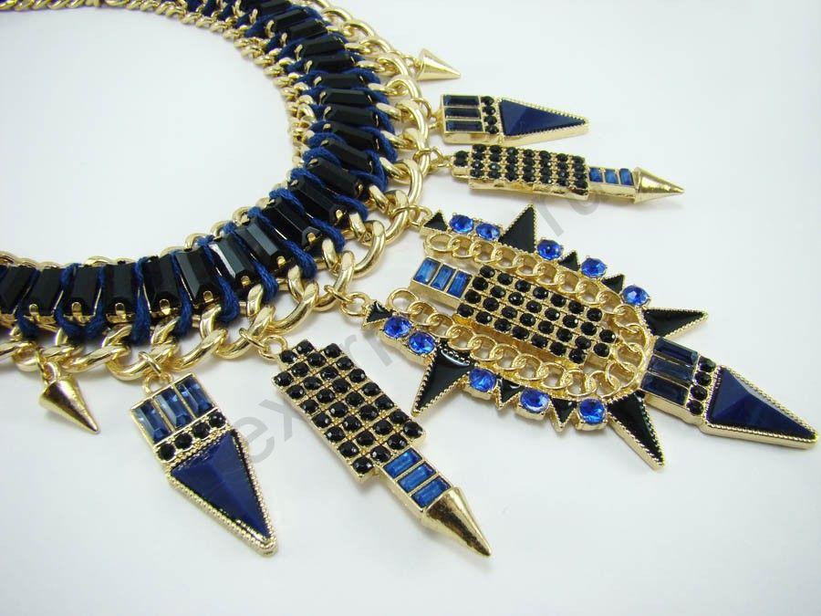 Колье Taya LX. T-B-7266-NECK-BLUE