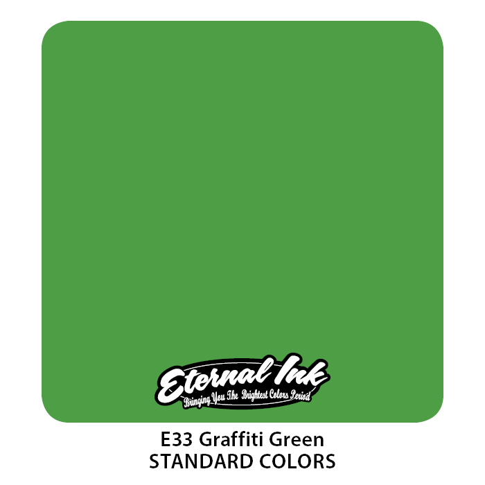 Eternal Graffiti Green