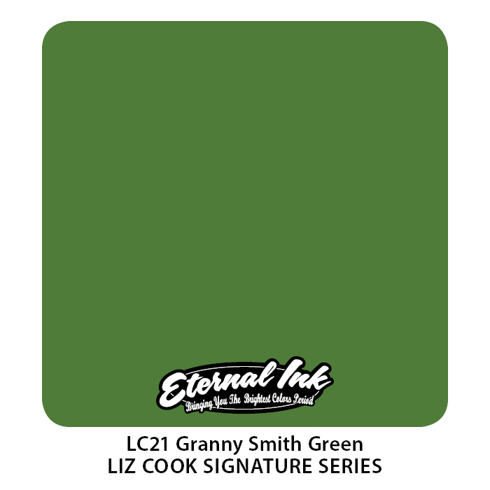 Eternal Liz Cook Granny Smith Green