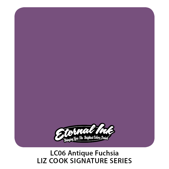 SALE! Eternal Liz Cook Antique Fuchsia