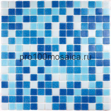 Aqua 100 (на бумаге) стекло. Мозаика серия ECONOM,  размер, мм: 327*327