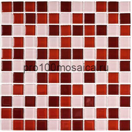 Brown mix  стекло. Мозаика серия CRYSTAL, размер, мм: 300*300