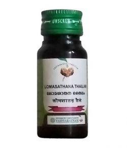 Lomasathana Thailam (Vaidyaratnam)Ломасатхана тайлам  25мл,Удаление нежелательных волос