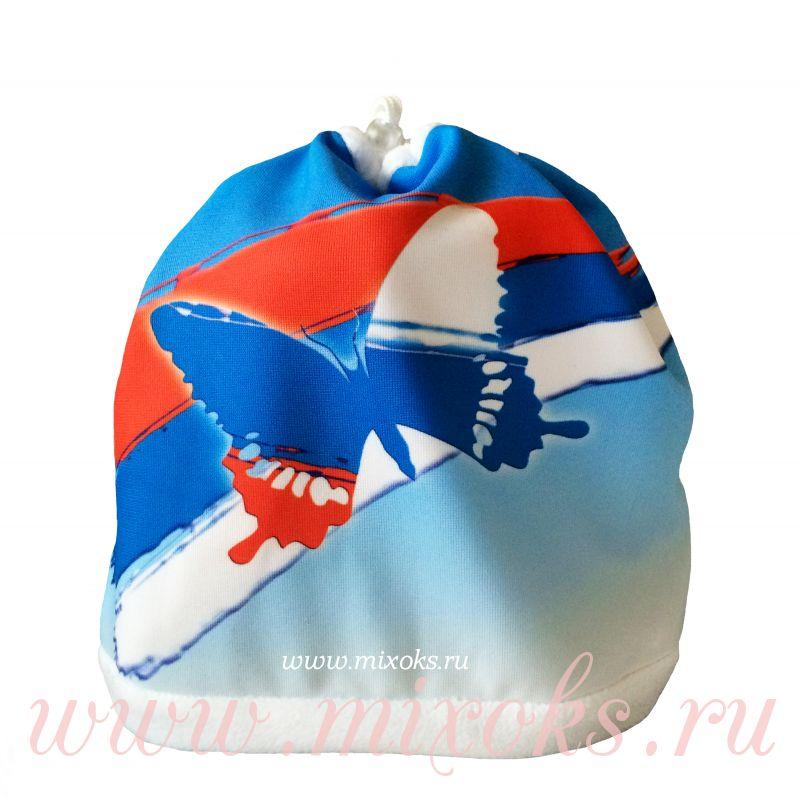 шапка-шарф 2в1