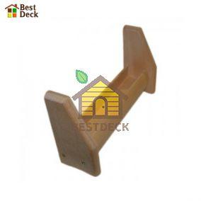 Полка деревянная из липы для масел №1
