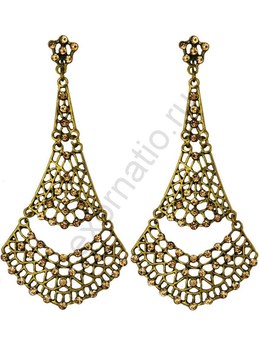 Серьги Taya LX T-B-11258 EARR GOLD