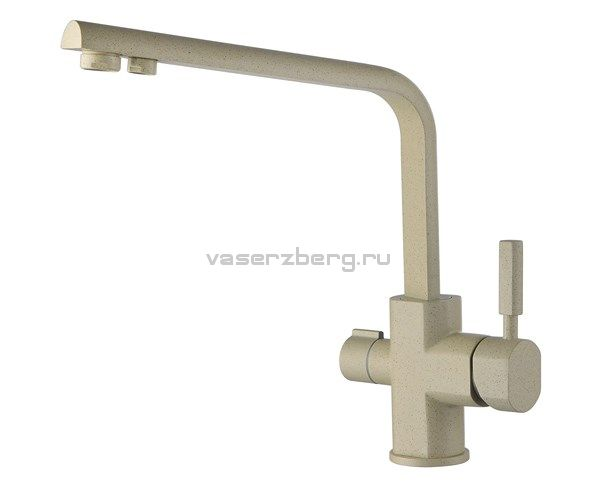 Kaiser Decor 40144-7 Ora Смеситель для кухни под фильтр Бежевый мрамор