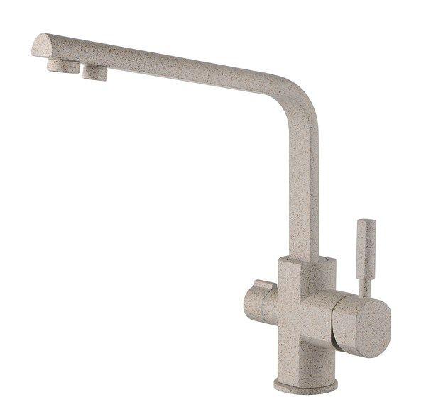 Kaiser Decor 40144-4 Sandbeige Смеситель для кухни под фильтр