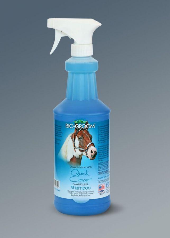 """Bio-Groom Quick Clean. """"ленивый конюх"""" Шампунь-кондиционер не требующий смывания"""