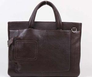 Коричневая мужская сумка Медведково