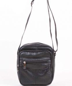 Чёрная мужская сумка Медведково