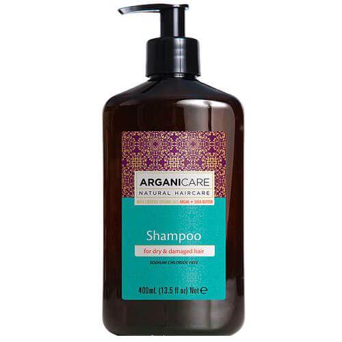 Шампунь для сухих и поврежденных волос с маслом Арганы ArganiCare (АрганиКеа) 400 мл