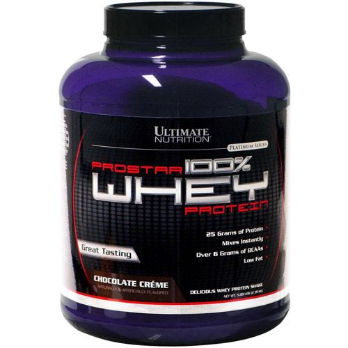 ULTIMATE NUTRITION Prostar Whey 5lb (2,39кг.) скл 2