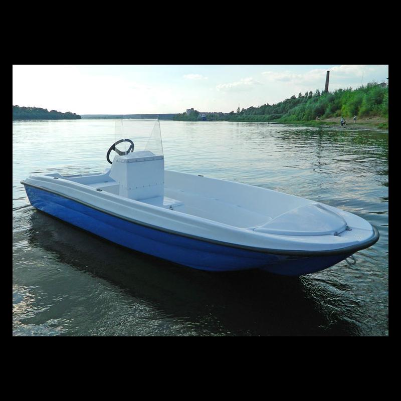 Моторная лодка Пингвин с консолью (тримаран) NEW!