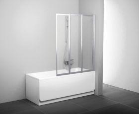 Шторка на ванну Ravak VS3 100 сатин+рейн