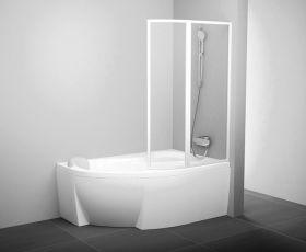 Шторка на ванну Ravak VSK2 Rosa 170 R/L рейн