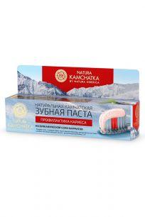 """Паста зубная """"Профилактика кариеса для всей семьи"""" Kamchatka"""