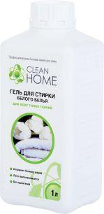 Гель для стирки белого белья CLEAN HOME