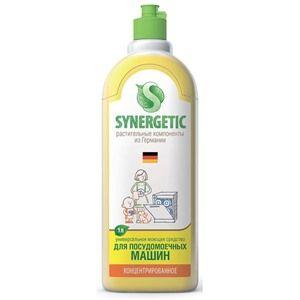 """""""Synergetic"""" Средство концентрированное биоразлагаемое """"для машинно мойки пос и кух инв"""" 1л (крышка)"""
