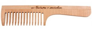 """""""Тимбэ"""" Расческа РД3201, с ручкой, средний зуб"""