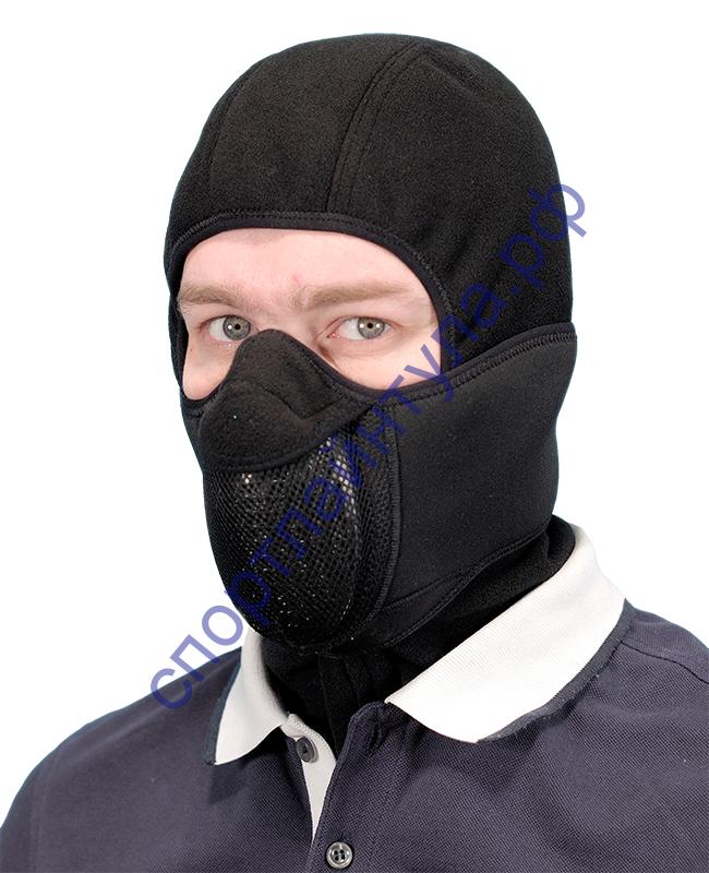 Тепловая маска Балаклава 3 в 1 арт. ТМ 1.4. (черный) САЙВЕР|SAYVER
