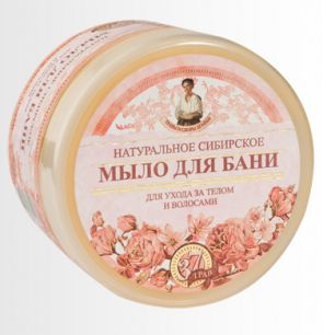 """""""ТСА"""" Мыло д/бани """"Цветочное мыло Агафьи"""" 500 мл."""