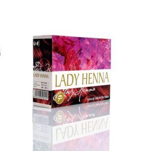 Бургунд - краска для волос на основе  хны LADY HENNA (№6)
