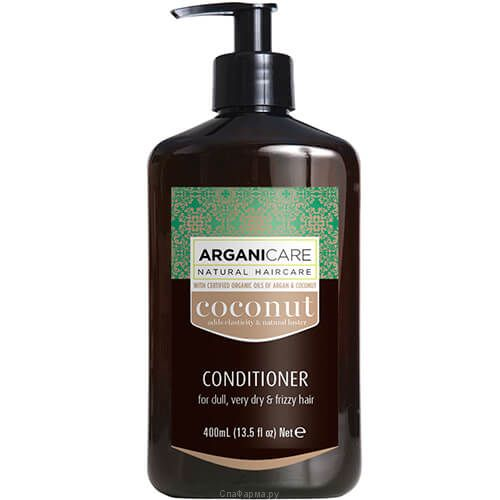 Кокосовый кондиционер для волос ArganiCare (АрганиКеа) 400 мл