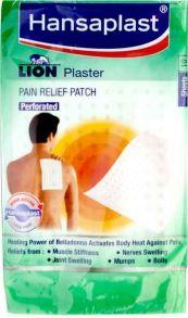 Hansaplast Lion Plaster Pain Relief Patch, 10шт ,17см*11см