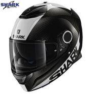 Шлем Shark Spartan Carbon Skin, Черный/белый