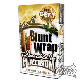 "Blunt Wrap Platinum ""French Vanilla"""