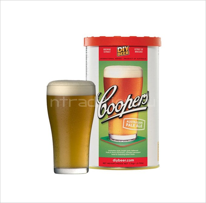 Coopers Australian Pale Ale, 1,7 кг