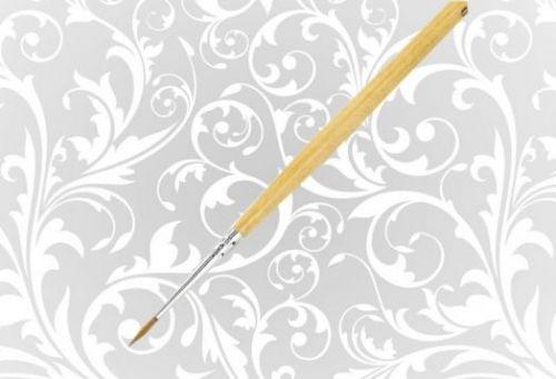 Кисть Колонок НП Сонет круглая длинная ручка пропитанная лаком №0
